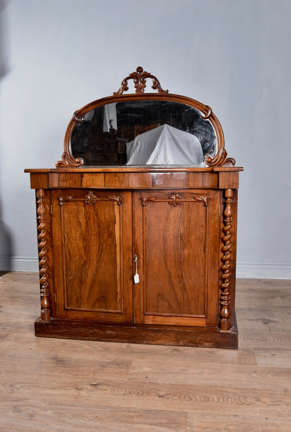 victorian rosewood chiffonier side cabinet