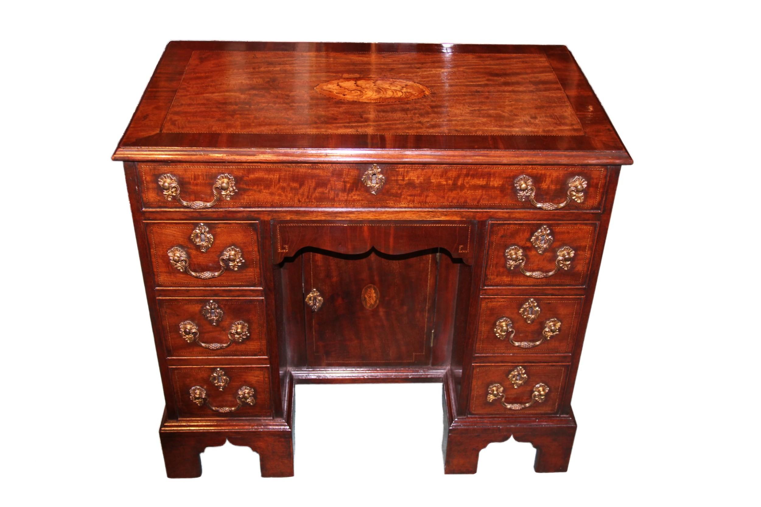 a george iii small kneehole desk
