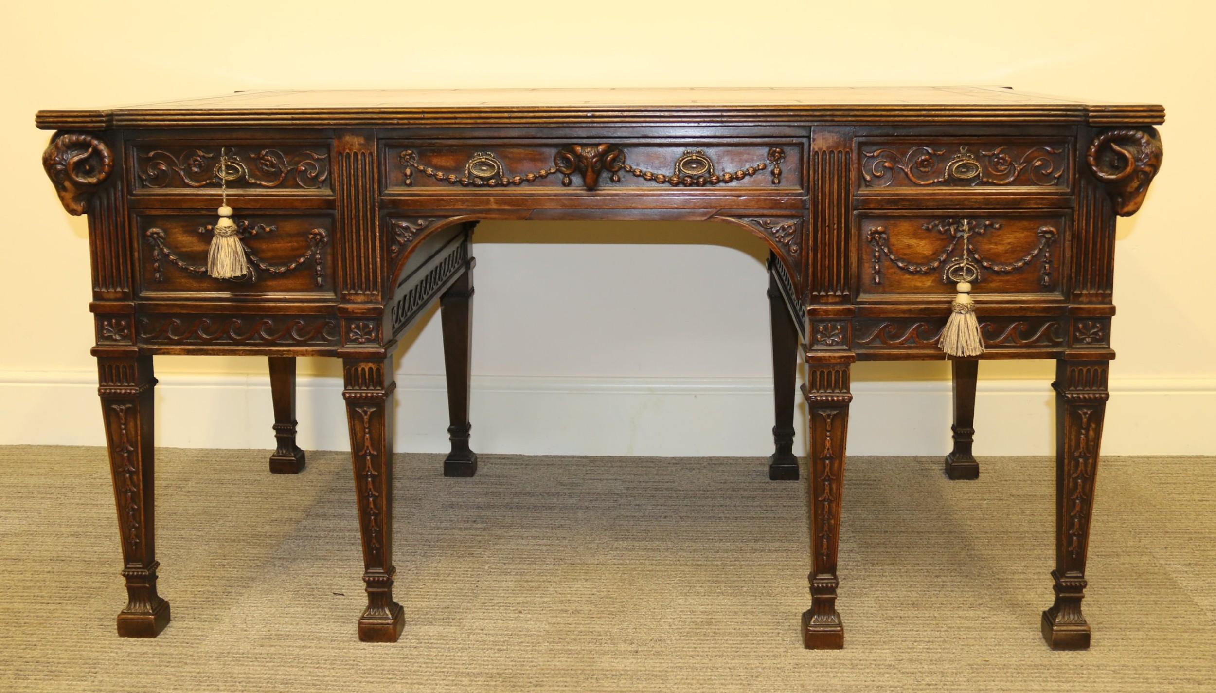A Fine Robert Adam Style Desk | 582699 | Sellingantiques.co.uk