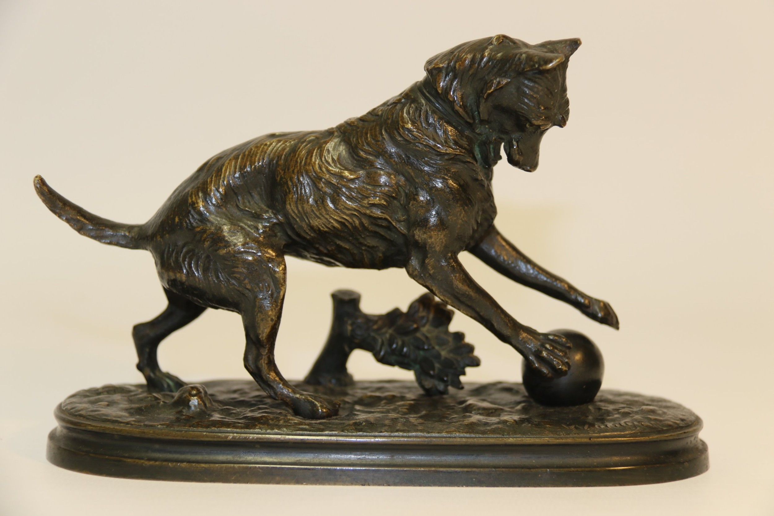 a 19th century french bronze by arthur waagen