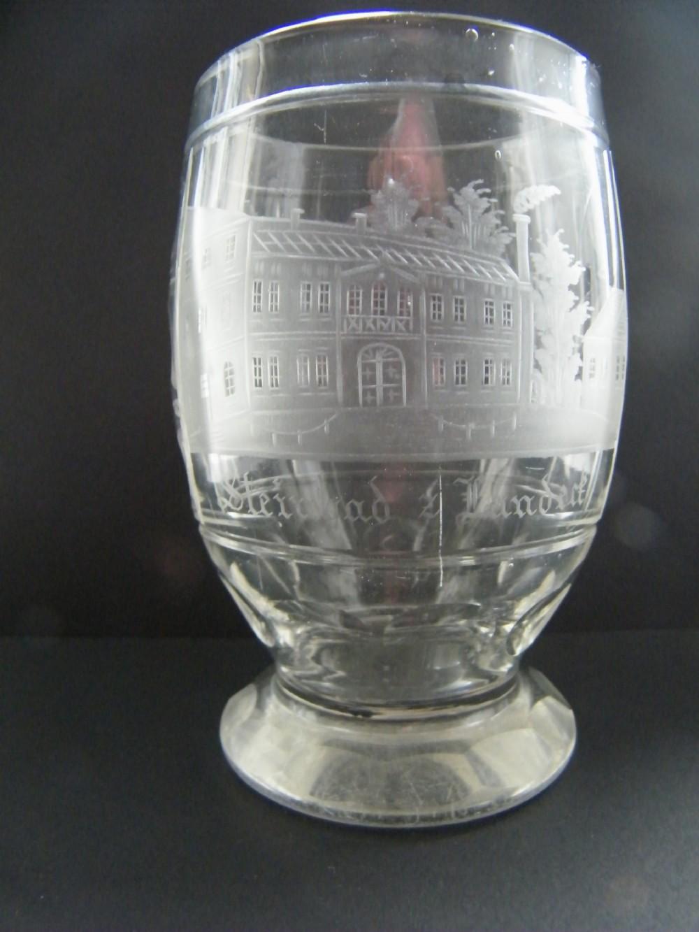 silesianbohemian spa beaker tumbler engraved