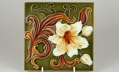 Stylish Antique Floral Tile  19//114