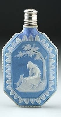 c1800 wedgwood jasper ware scent perfume bottle - photo angle #3