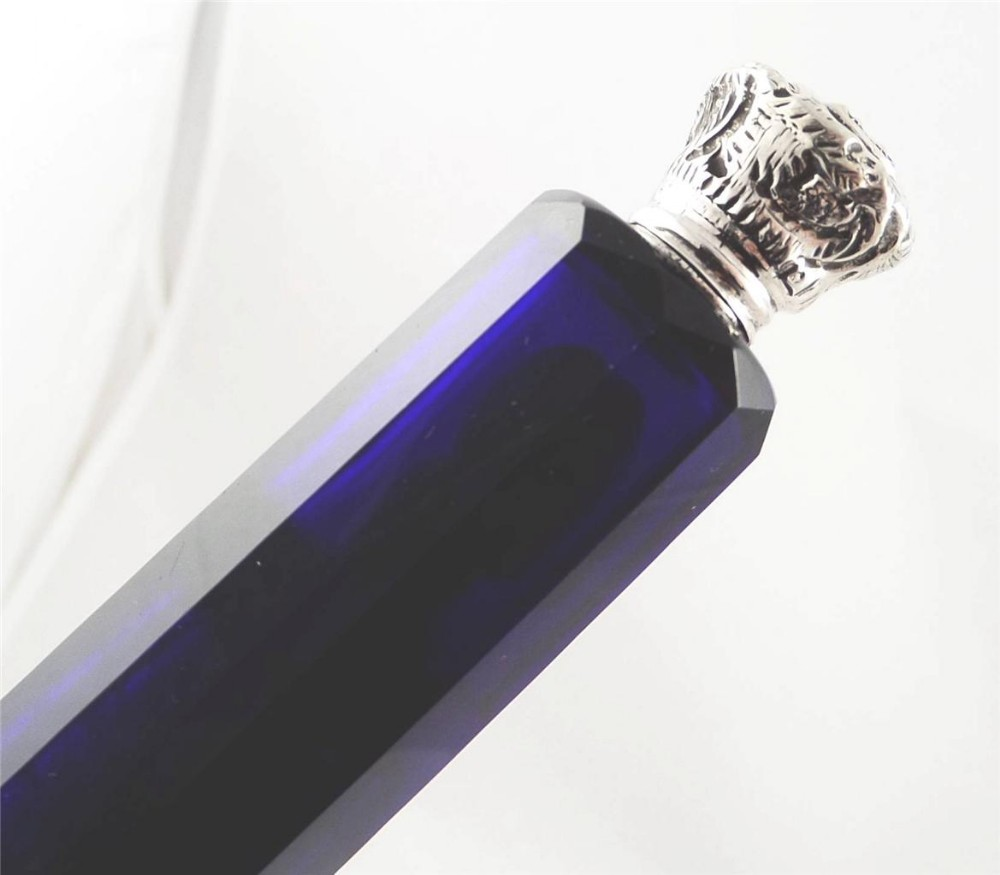 Bristol Blue Glass Seconds