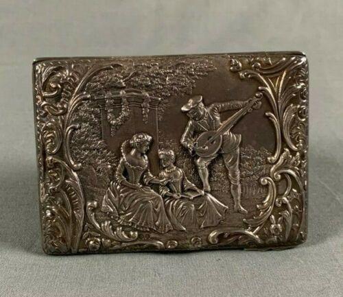 fine victorian silver aide memoire henry mathews 1899