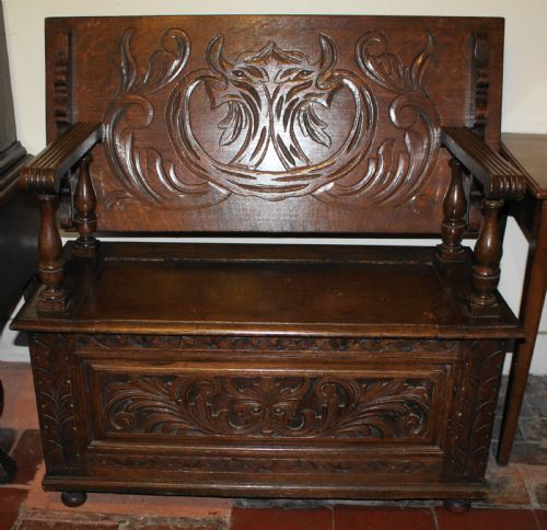 Fantastic Antique Benches The Uks Largest Antiques Website Dailytribune Chair Design For Home Dailytribuneorg