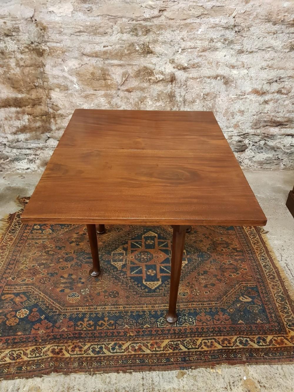 georgian mahogany one side drop leaf gateleg table