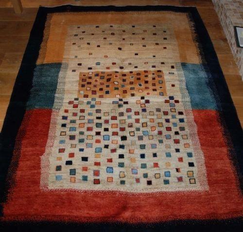 contemporary qashqa'i gabbeh rug southwest iran