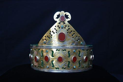 crown tekke turkmen tribes turkmenistan central asia