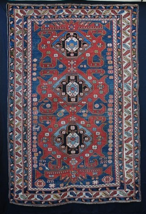 antique shirvan rug eastern caucasus