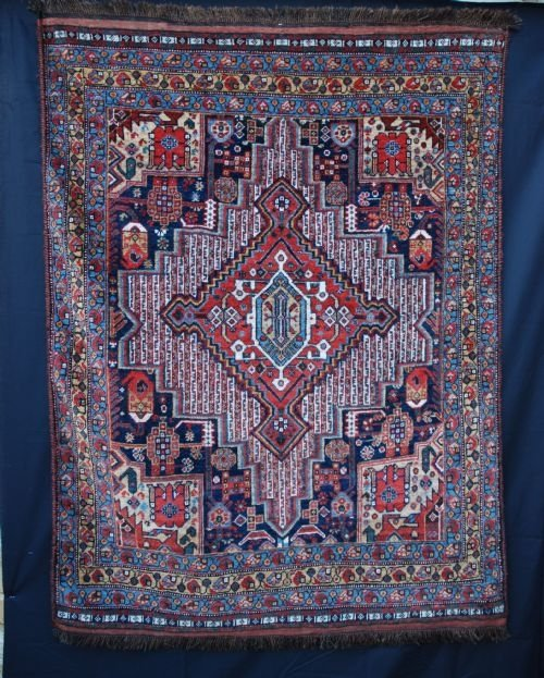 antique khamseh confederacy tribes southwest persia