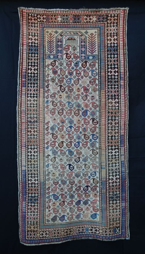 antique akstafa prayerrug eastern caucasus