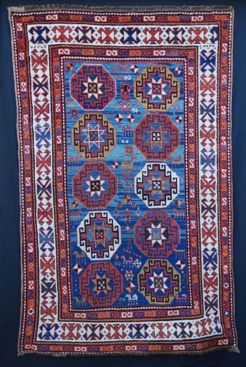 antique moghan rug southeastern caucasus