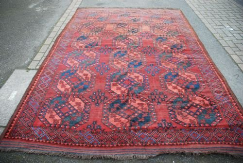 antique ersari turkmen carpet turkmenistan central asia
