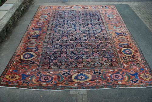 antique feraghan carpet northwest persia