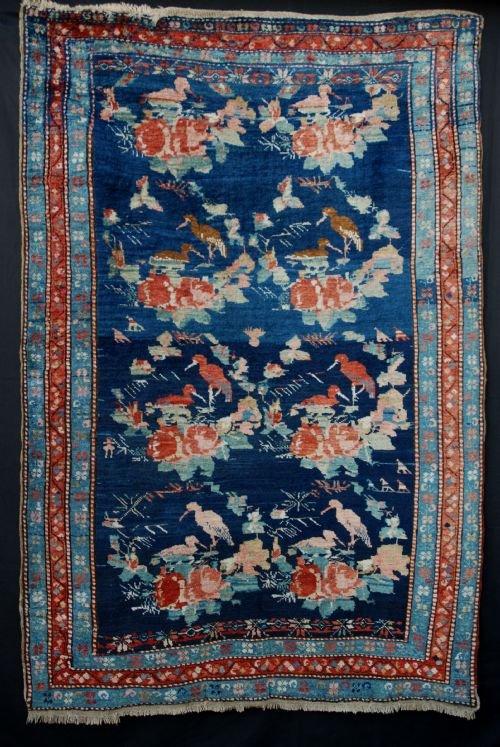 antique karabagh rug southern caucasus