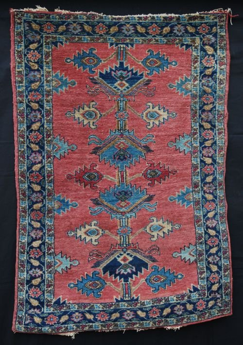antique lilihan rug northwest persia