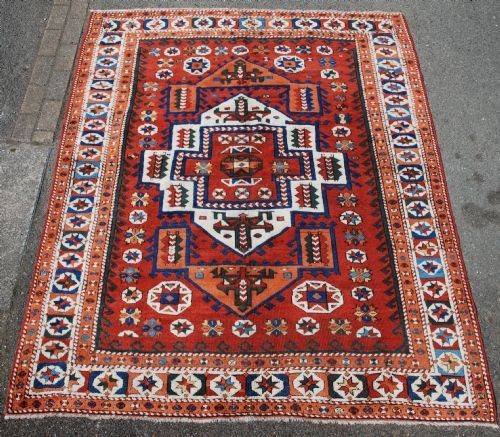 antique canakkale rug northwest anatolia