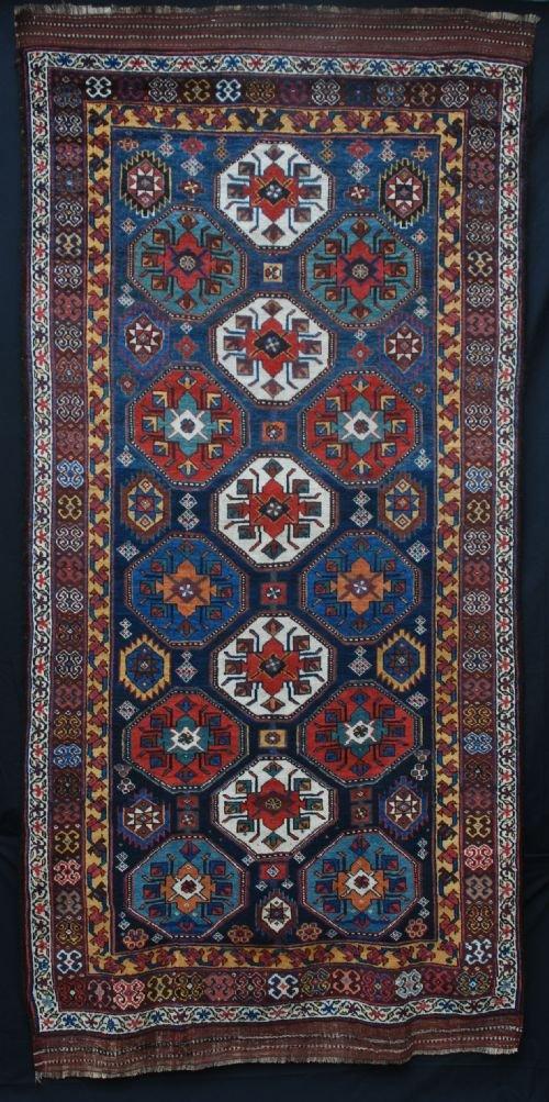 antique varamin carpet north west persia