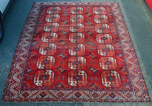 antique kizyl ayak turkmen carpet turkmenistan central asia