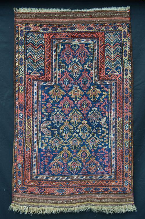 antique prayer rug timuri tribes western afghanistan