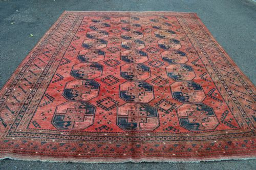 antique ersari turkmen carpet central asia