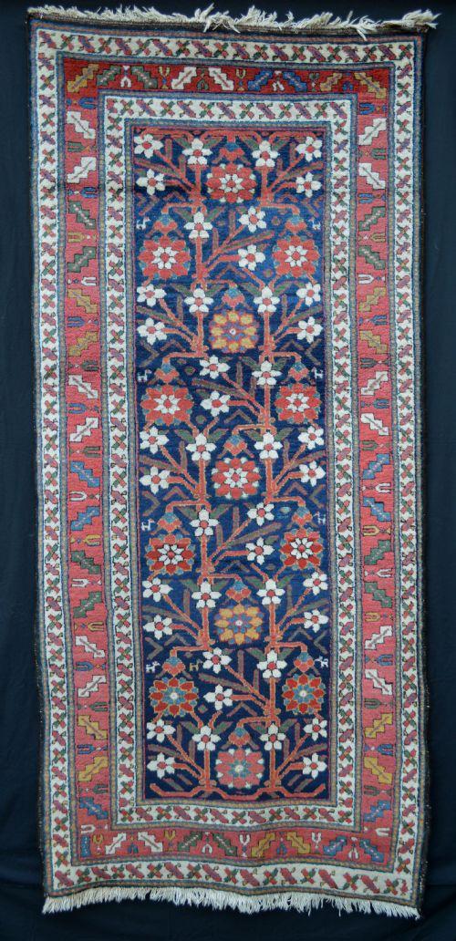 antique bakhtiari rug western persia