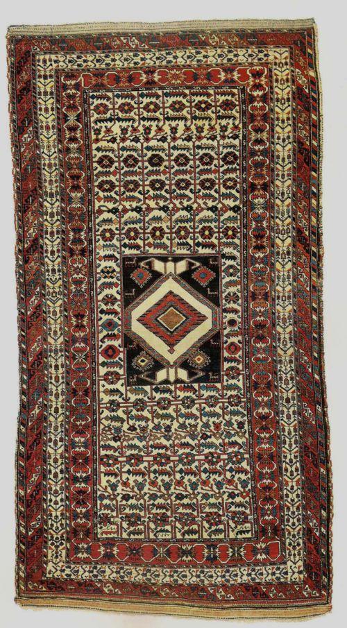 rare antique bakhtiari carpet west persia
