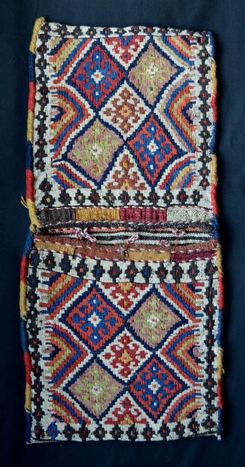 antique khorjin shahsevan tribes azerbaijan