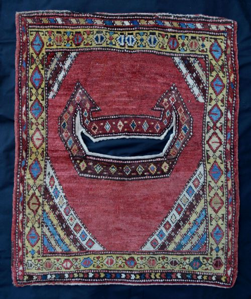 antique saddlecover shahsevan tribes azerbaijan