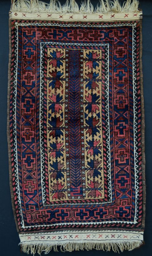 antique baluch rug khorassan province northeast persia