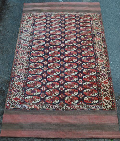 18th century chodor turkmen main carpet turkmenistan central asia