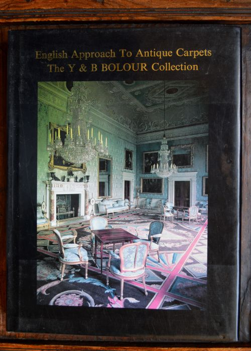 'english approach to antique carpets' by y b bolour