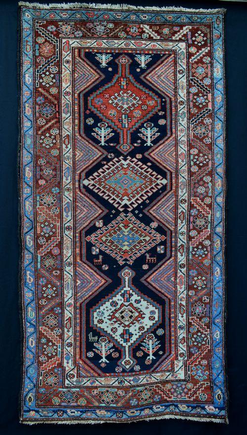 antique bakhtiari rug bakhtiari tribes western persia