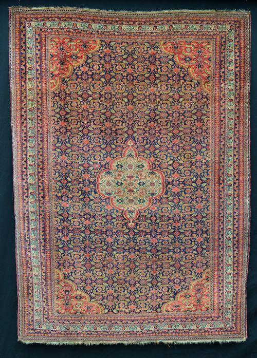 antique kerman afshar rug kerman province southern persia