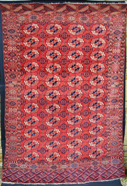antique tekke turkmen carpet turkmenistan central asia