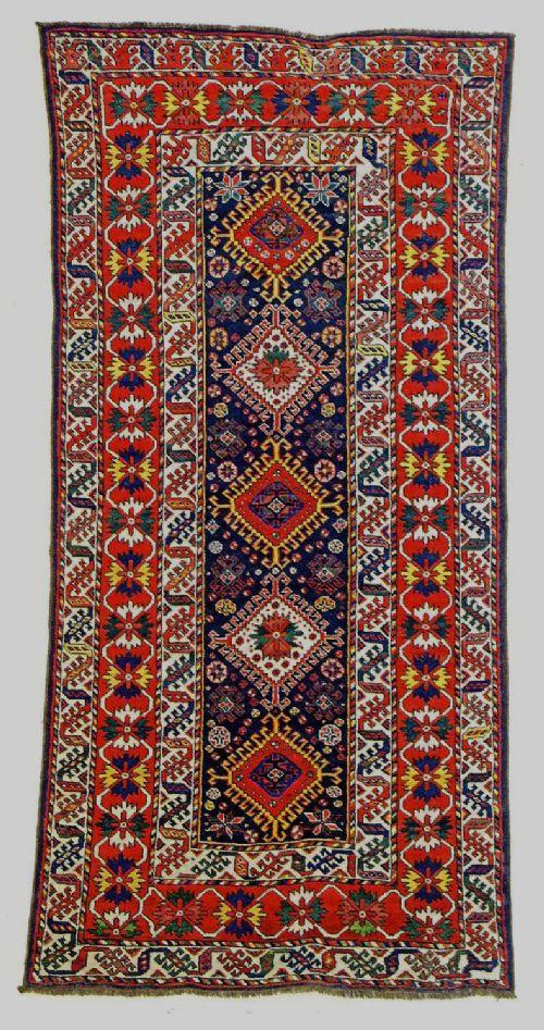 antique luri tribal rug luristan western persia