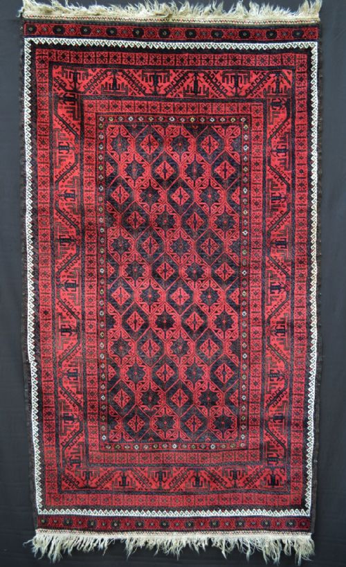 Antique Baluch Rug, Khorassan Province, North East Persia.