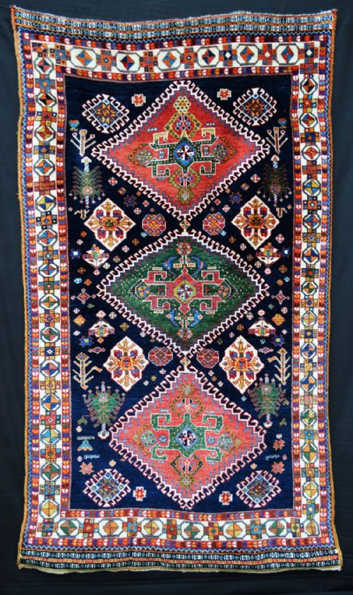 Thumbnail picture of: Antique South-West Persian Tribal Rug, Fars Province, South-West Persia.