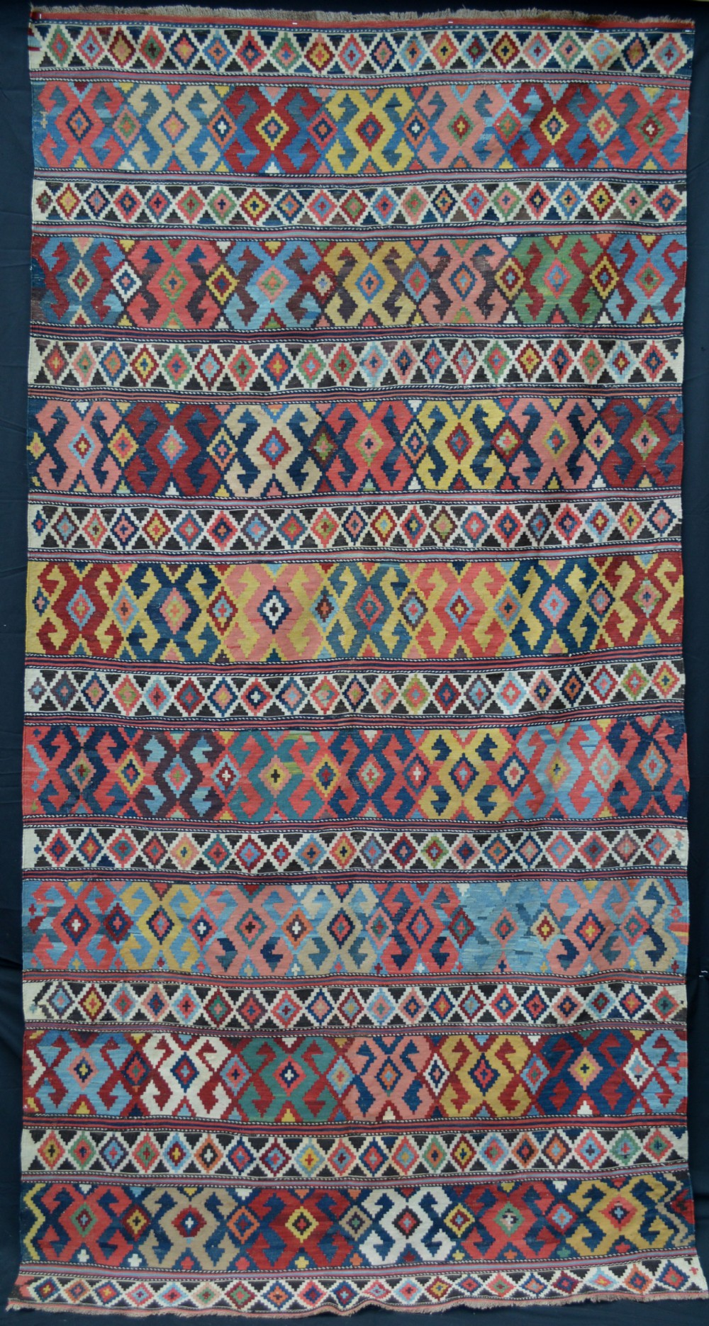 antique kilim shirvan region eastern caucasus