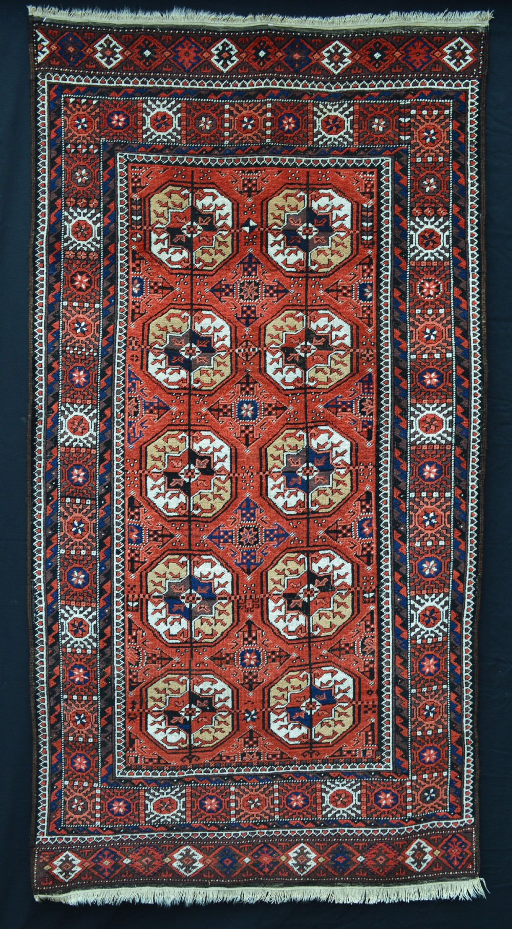antique baluch rug mahdad khani tribe southeast persia