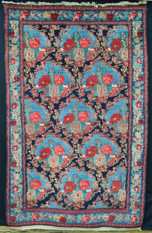 antique senneh rug kurdish tribes of senneh persian kurdistan