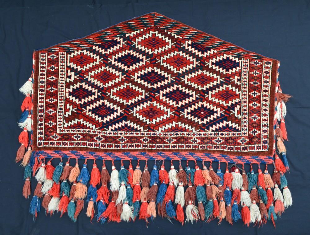 antique turkmen asmalyk yomut turkmen transcaspian steppes central asia