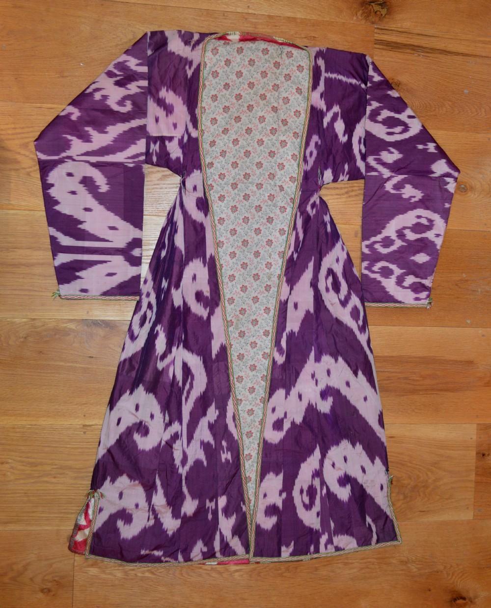 antique uzbek coat uzbek tribes uzbekistan