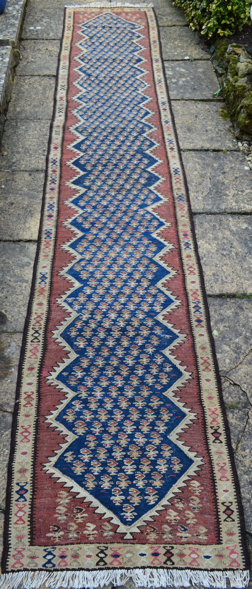 antique kilim runner kurdish tribes of bijar persian kurdistan
