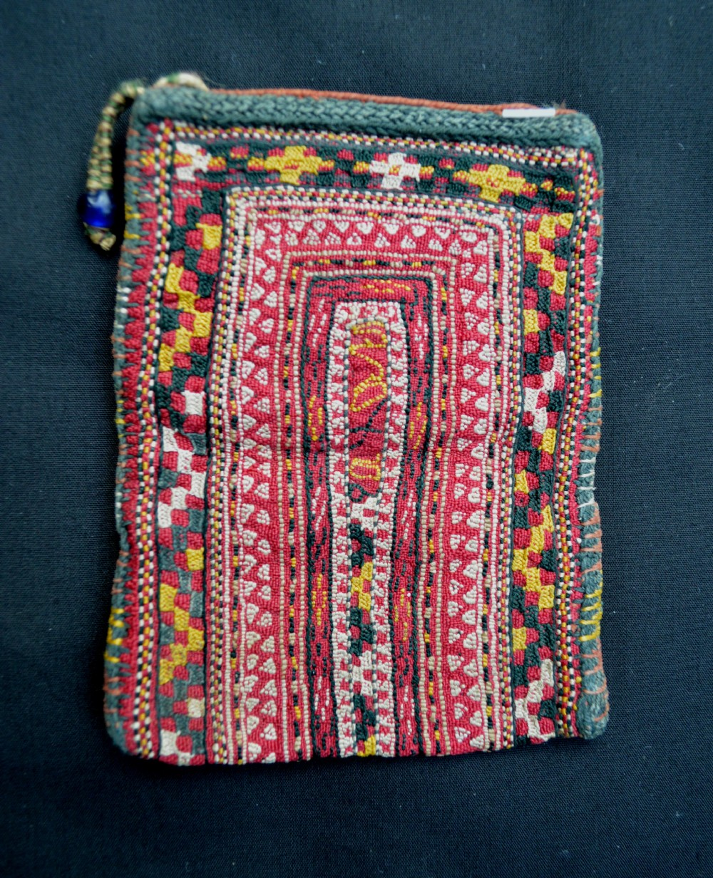 antique turkmen purse tekke turkmen turkmenistan central asia