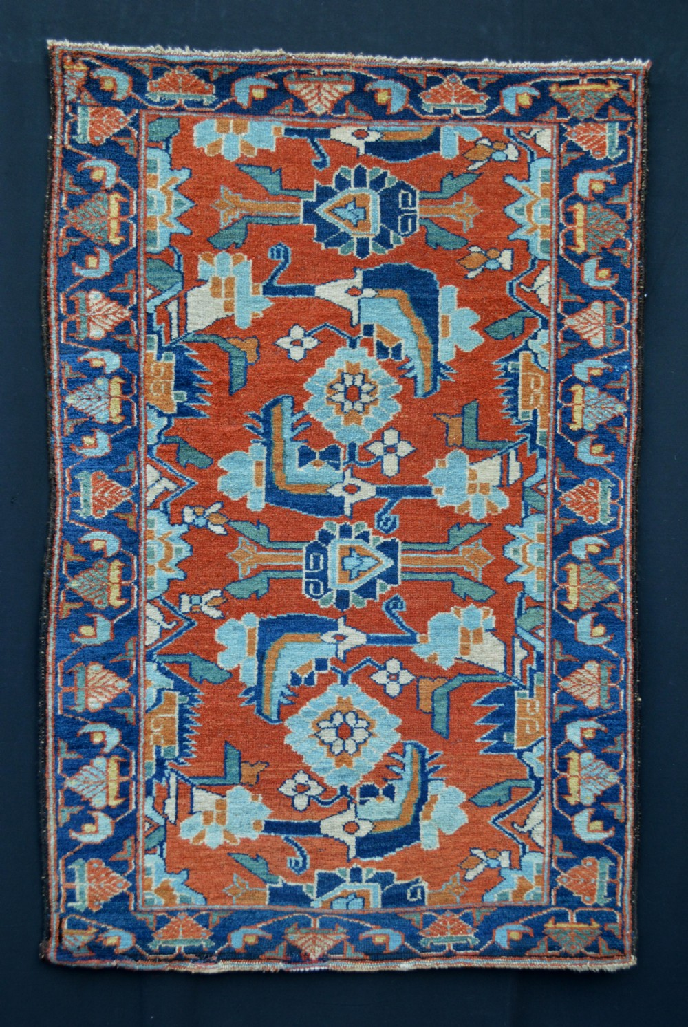 antique lilihan rug lilihan northwest persia