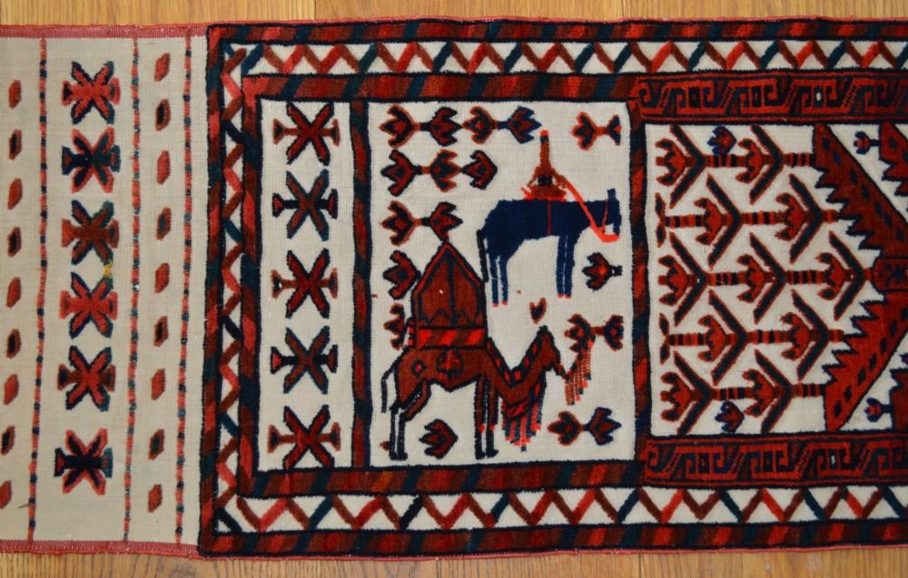 antique tent band yomut turkmen transcaspian steppes turkmenistan central asia