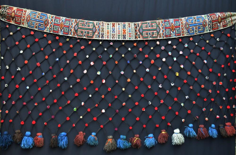 tent decoration shahsevan nomads azerbaijan