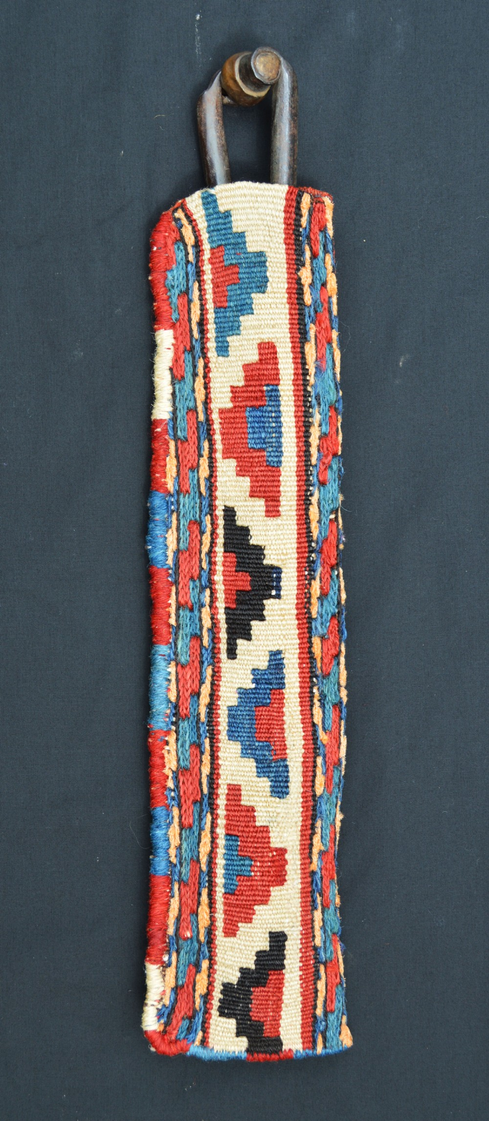 antique 'quirklig' scissorsbag shahsevan nomads of moghan azerbaijan